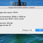 Get image info direct from Finder