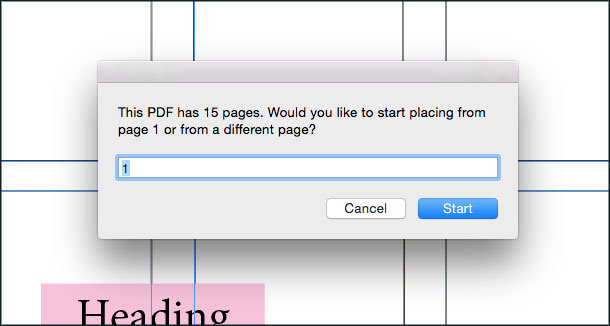 Place multiple paged PDF into existing image frames – Dr Scripto